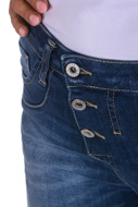 Picture of Please - Jeans P78 E25 - Blu Denim