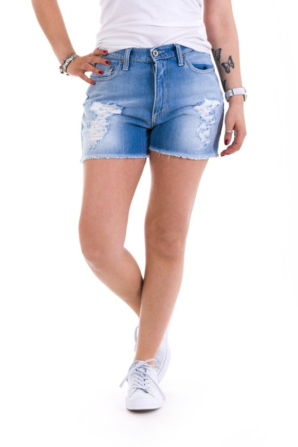 Bild von Please - Bermuda/Shorts P13 - Blu Denim