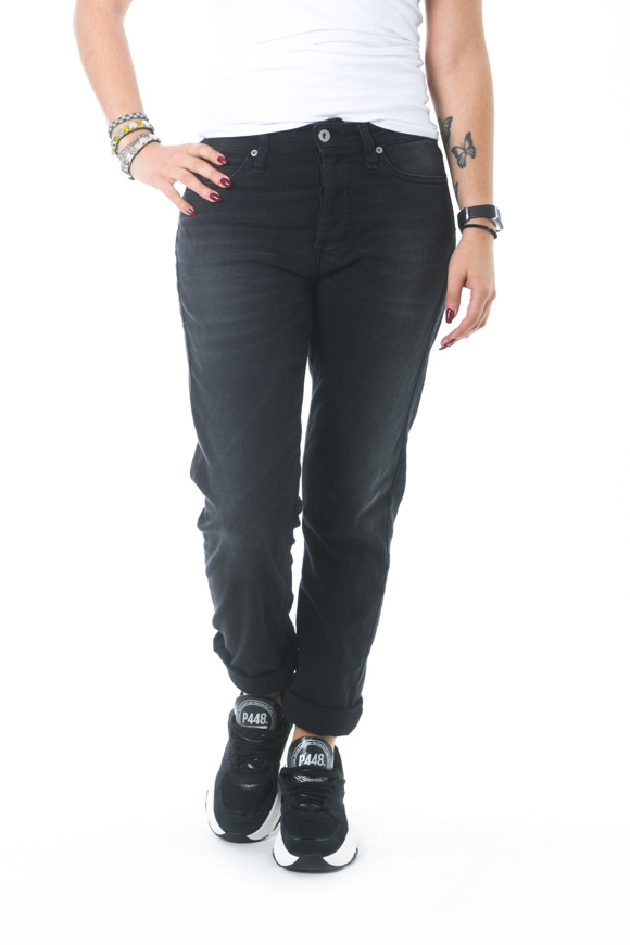 Picture of Please - Jeans P33 M7Q - Nero Denim
