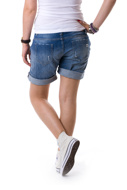 Bild von Please - Short D005 - Blu Denim