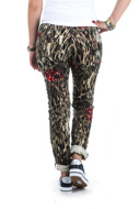 Picture of Please - Pant P78 W50 - Beige/Rosso