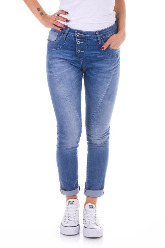 Picture of Please - Jeans P78 E50 - Blu Denim