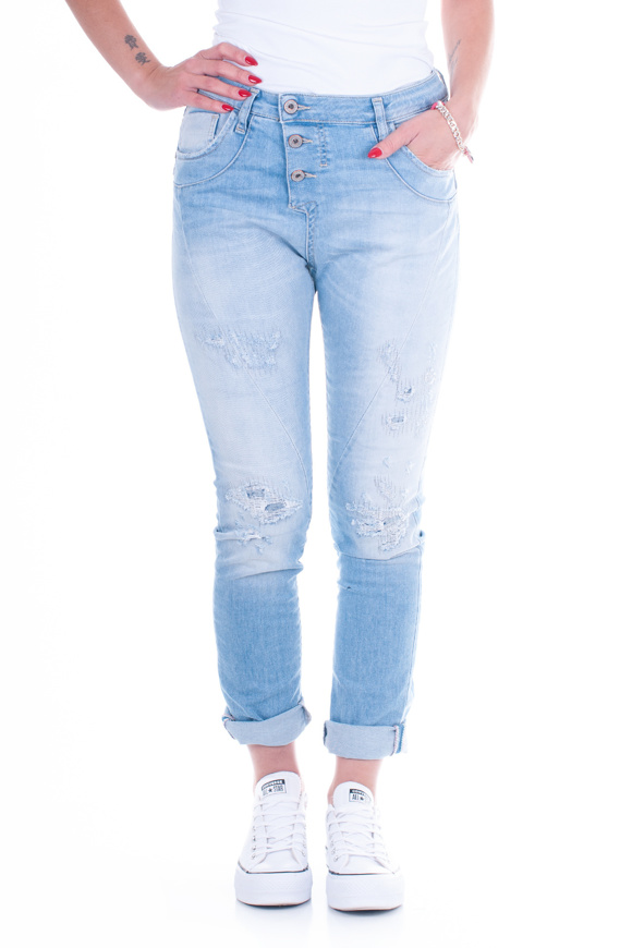 Immagine di PLEASE - JEANS P78 P7B - BLU DENIM
