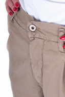 Picture of PLEASE - PANT P0 C17 - BEIGE