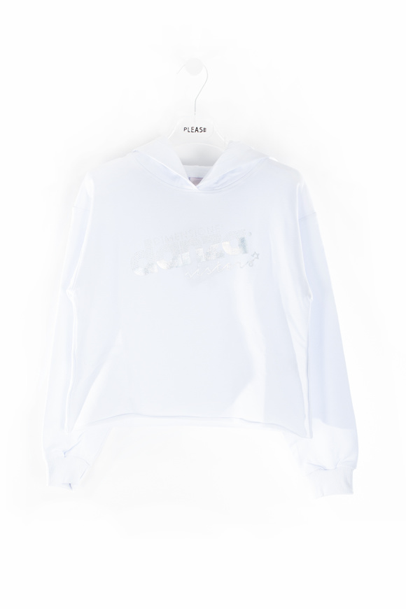 Picture of DANZA hoodie - white