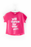 Picture of DANZA T-SHIRT - fuchsia