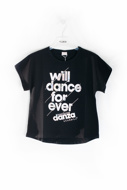 Picture of DANZA T-SHIRT - black
