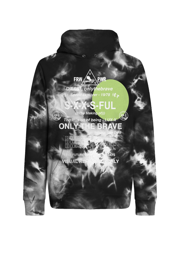 Picture of DIESEL Pullover - black