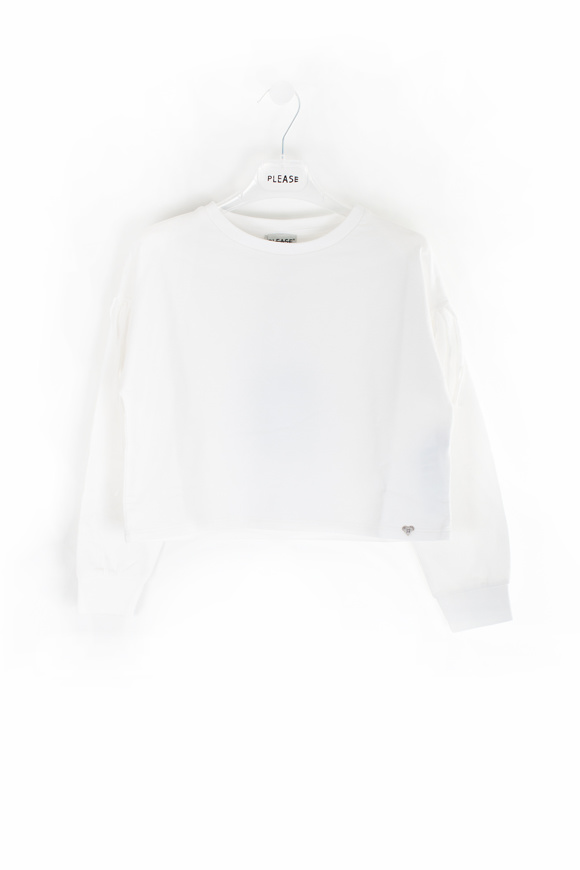 Picture of PLEASE - pullover - white