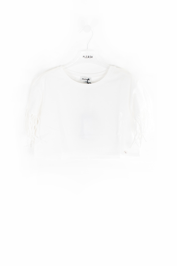 Picture of PLEASE - T-SHIRT - white