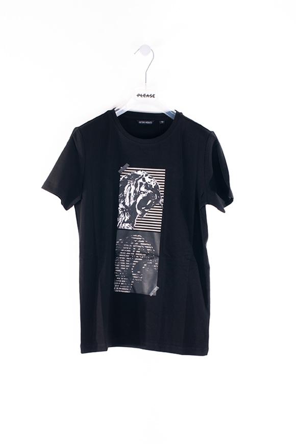 Picture of Antony Morato - t-shirt - black