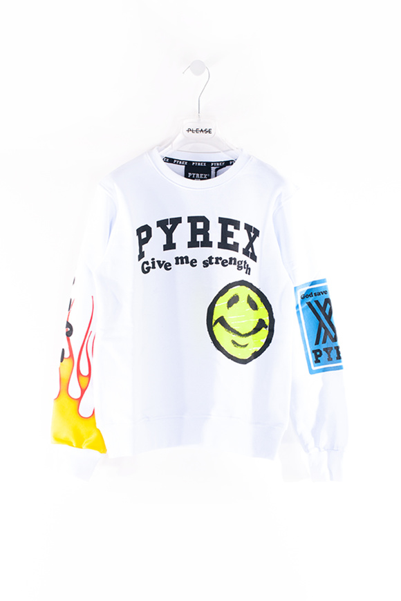 Picture of PYREX - sweater - white