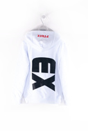 Picture of pyrex - hoodie - white