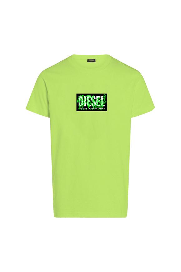 Immagine di DIESEL - t-shirt - LIME