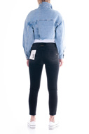 Picture of LE STREGHE - jacket - JEANS