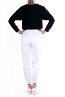 Picture of LE STREGHE - jeans - white