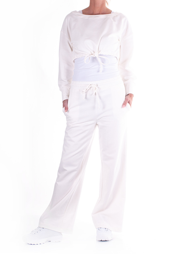 Picture of LE STREGHE - trousers - white