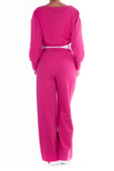 Picture of LE STREGHE - hoodie - FUXIA