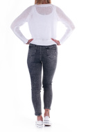 Picture of LE STREGHE - JEANS - black