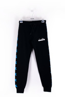 Picture of DIADORA - TROUSERS - BLACK
