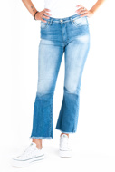Picture of PLEASE - JEANS P27 MED - BLU DENIM